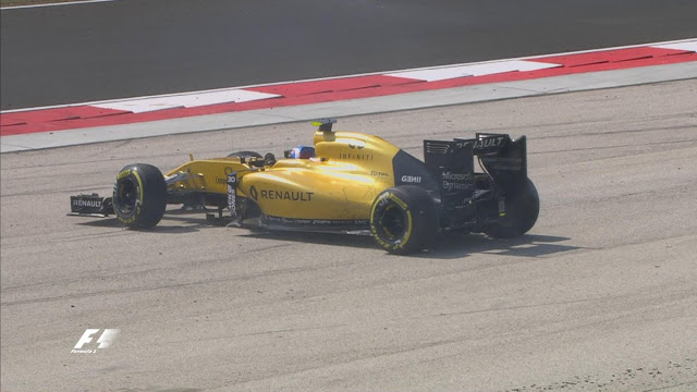 Renault palmer f1