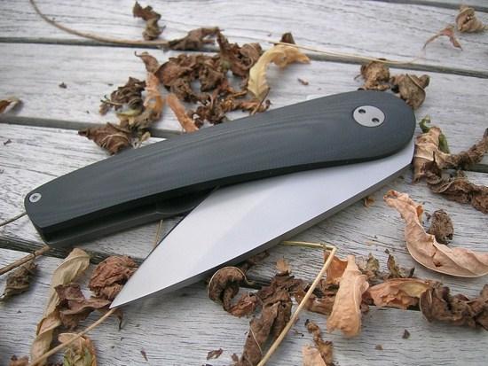 custom pocket knife G10