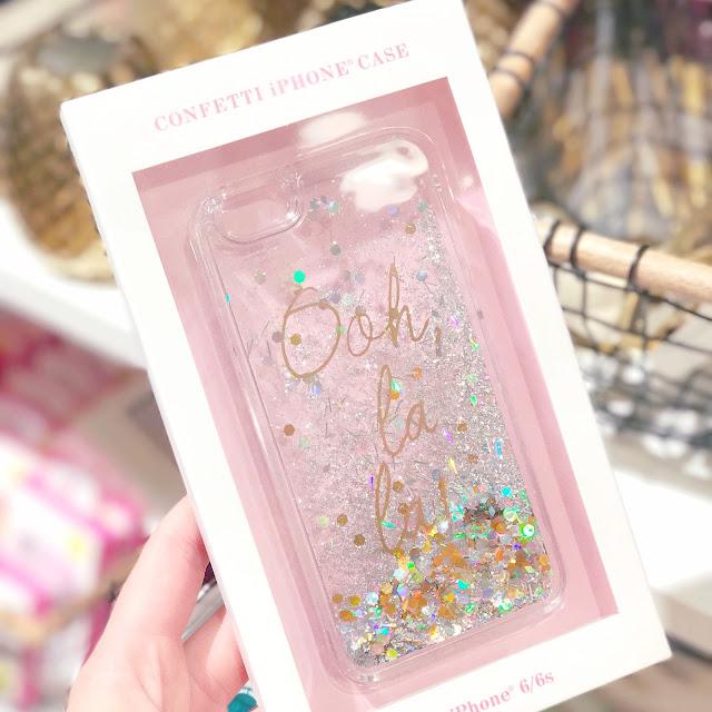 Anthropologie | Ooh La La Glitter Confetti Phone Case