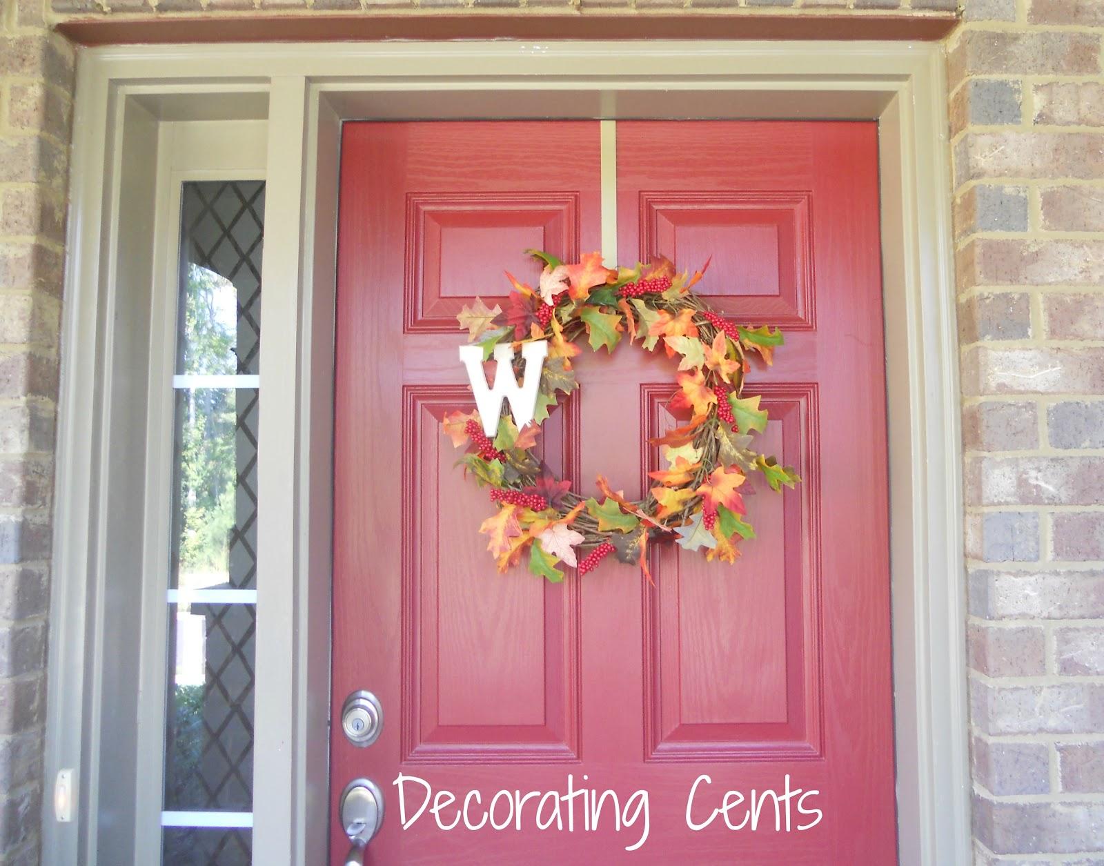 Wreath For Red Door Sevenstonesinc