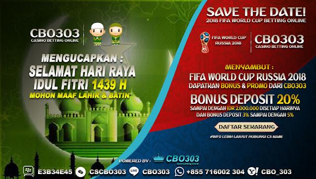 Rayakan Hari Kemenangan Idul Fitri 2018   Cbo303.com