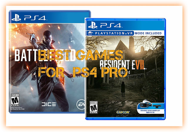 Best Games for the PS4 Pro