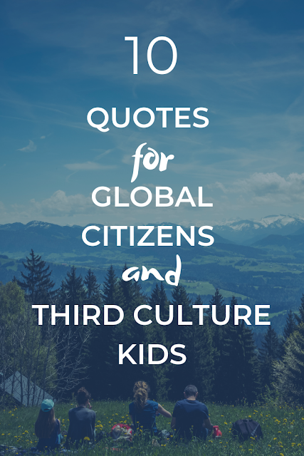 Quotes for global citizens and TCKs