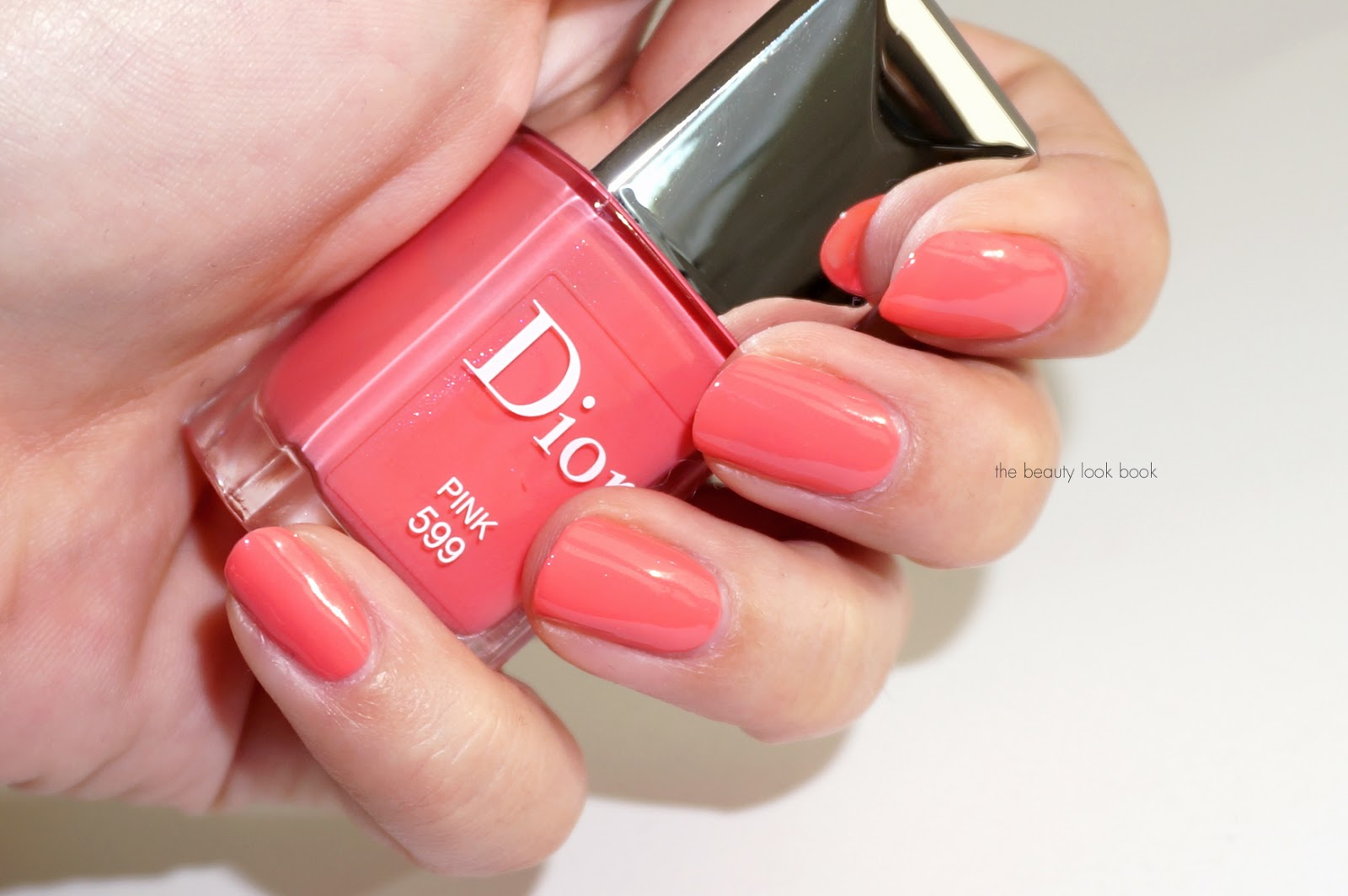 Dior Vernis In Rose 499 Pink 599 And Corail 899 The Beauty Look Book