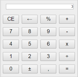 Calculator in JavaScript and HTML5 and css3 - source code
