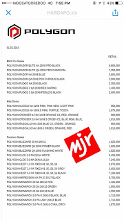 Harga Sepeda Polygon 2017 Sebelum Discount 1 MINAT??? sms 08568665168