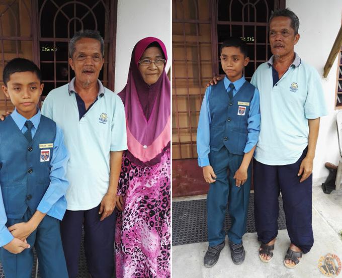 Kongsi Kegembiraan Ayah Ibu Pengasuh Amri
