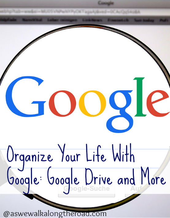 Using Google to organize your home and homeschool