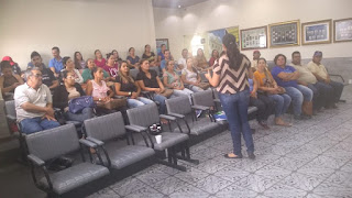 Agentes de saúde de Soledade participam de treinamento sobre uso e indicação de contraceptivos femininos