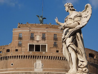 Castel Sant'Angelo com Anjo do Bernini
