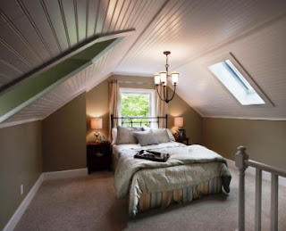 Attic Remodel for Extra Charming Space at Home