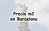 Precio metro cuadrado Barcelona