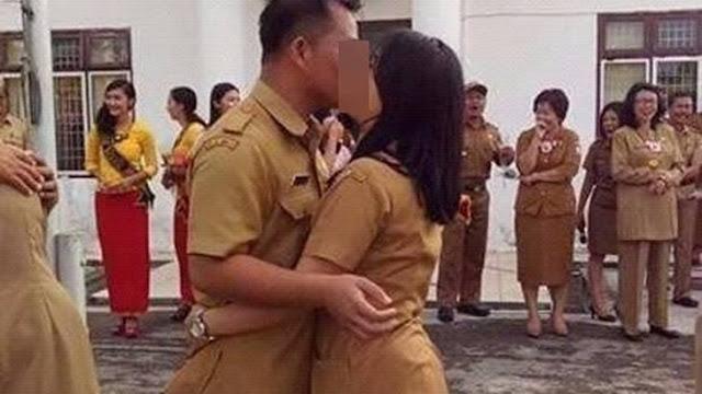 Ciuman PNS Nias Selatan Adegan Sangat Tidak Patut