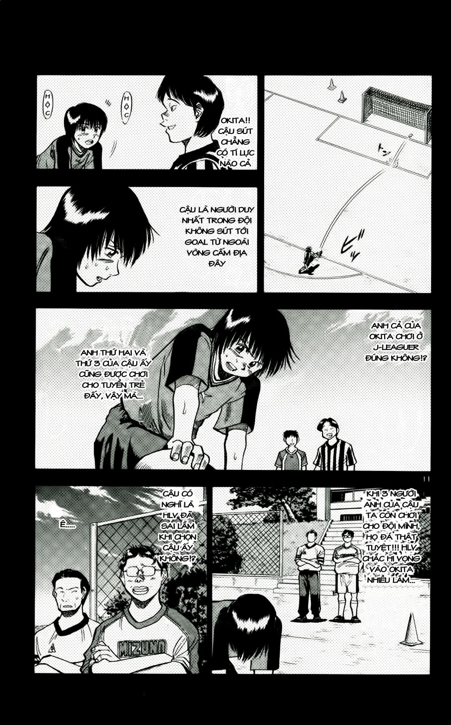 Fantasista chap 48 trang 11