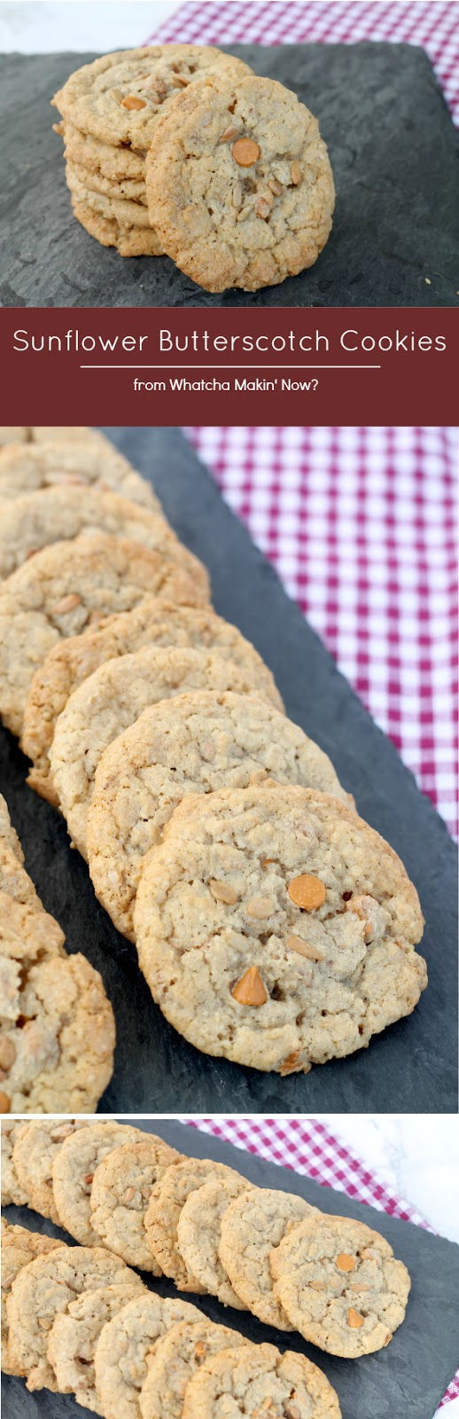 Sunflower Butterscotch Cookies - Bob's Red Mill 50 States of Cookies