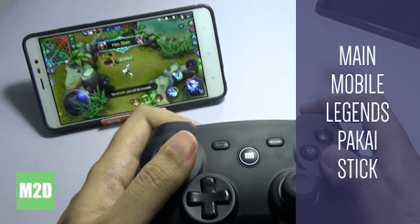 Main Mobile Legends dengan Stick Xiaomi TANPA Root