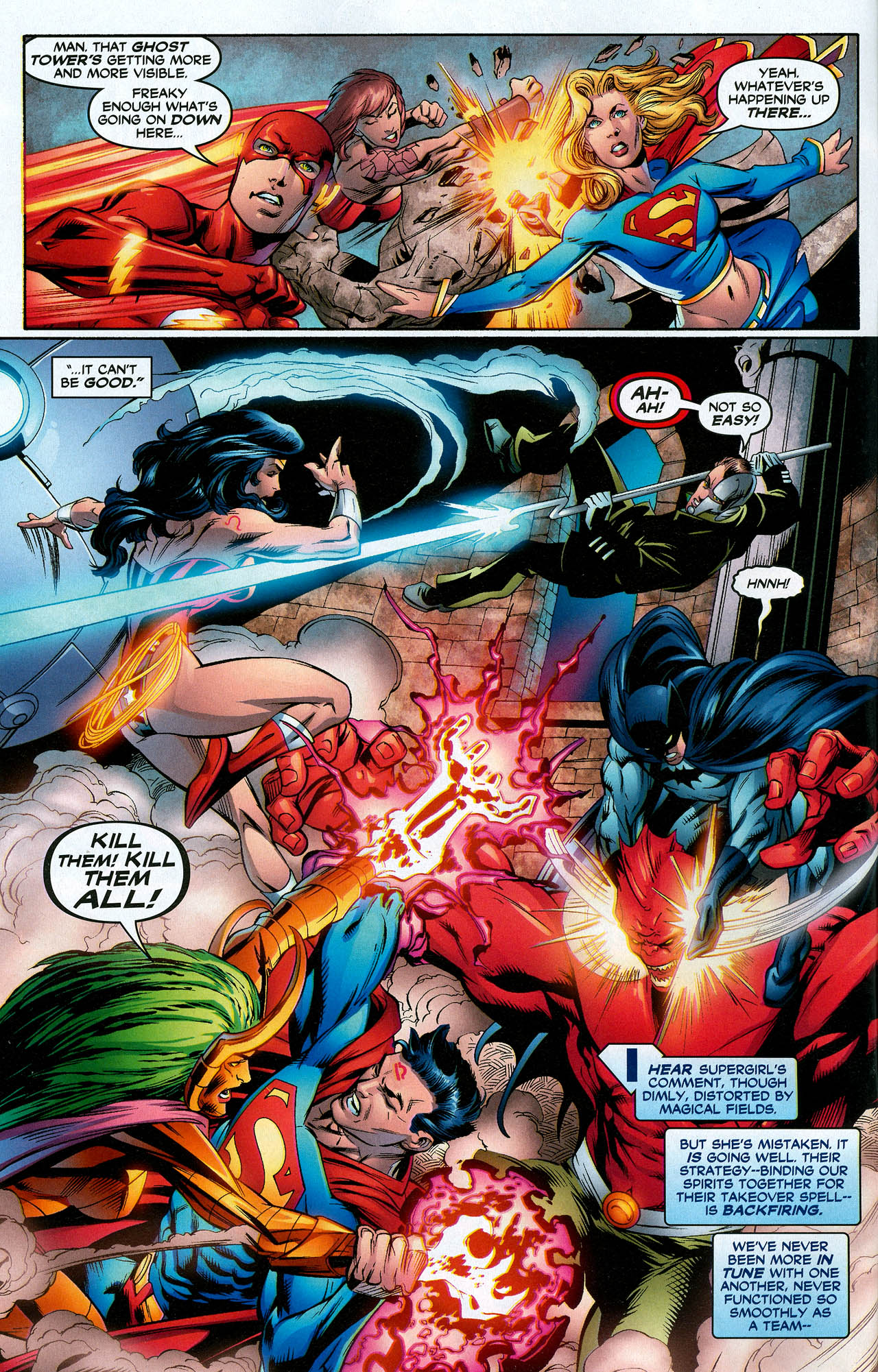 Read online Trinity (2008) comic -  Issue #16 - 4