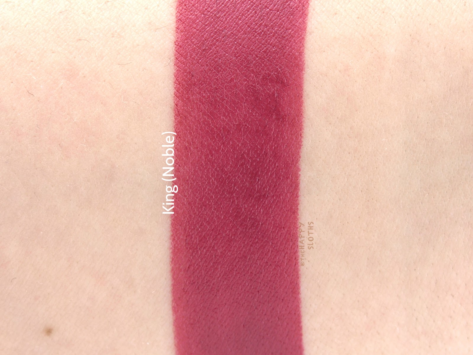 "Lipstick Queen Lipstick Chess in ""King"": Review and Swatches"