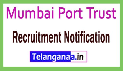 Mumbai Port Trust Recruitment Notification Apply