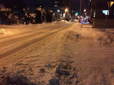 ちょっと早い北海道の冬