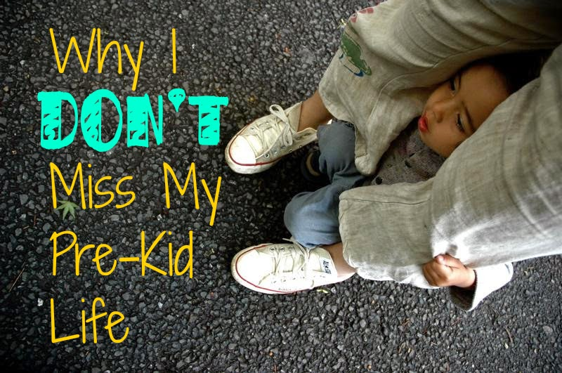 Why I Don't Miss My Pre-Kid Life -- what it really really means to lose your childfree life and pick up a new one as a mom {posted @ Unremarkable Files}