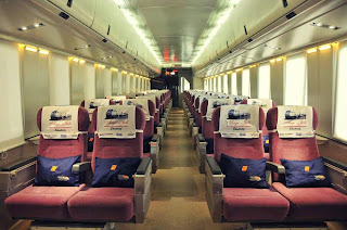 Executive Class Train Mutiara Timur Train