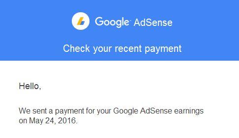 Masalah Pembayaran Otomatis Tertunda Google AdSense