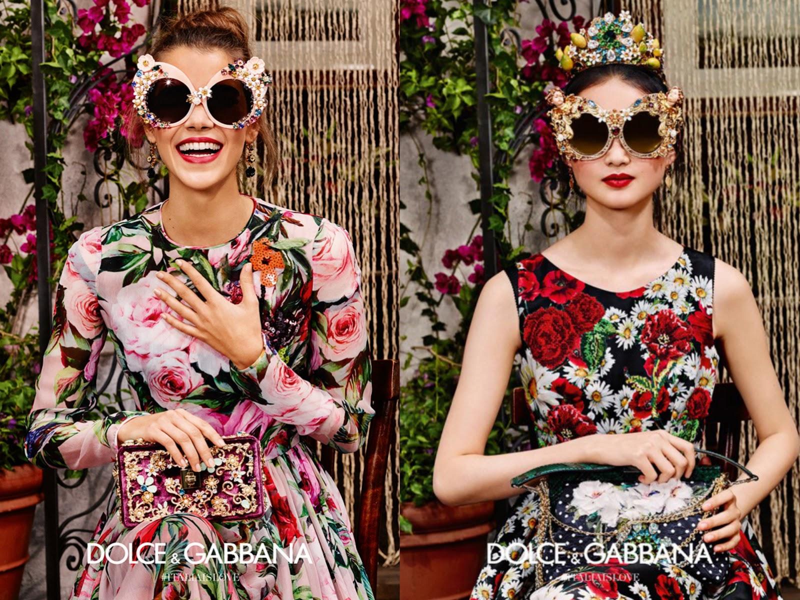 1b47434471 Dolce & Gabbana SS16 Eyewear Campaign