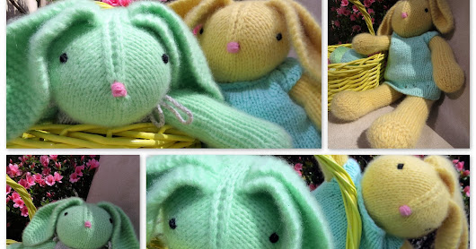Cashmere Bunnies ready for Easter