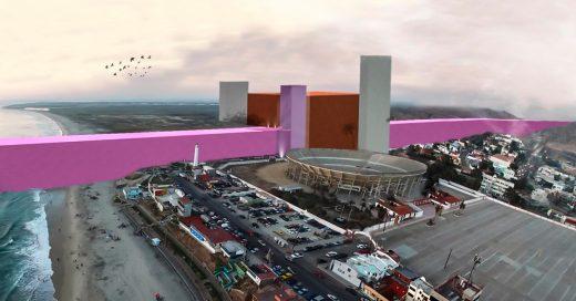 Arquitectos mexicanos presentan visión del muro de Trump