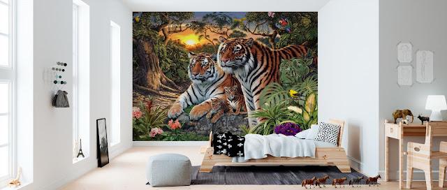 Tiikeri tapetti