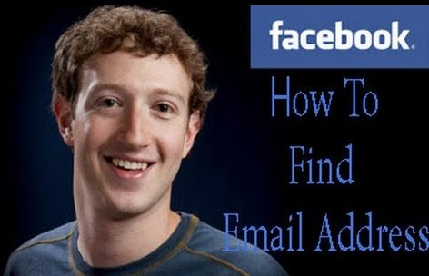 how to find out someones email on facebook