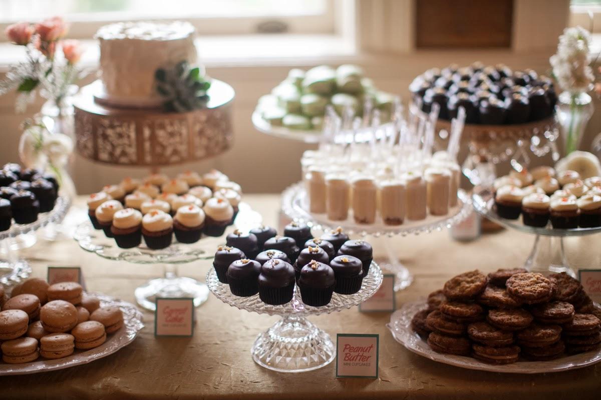Wedding Reception Cake Table Ideas