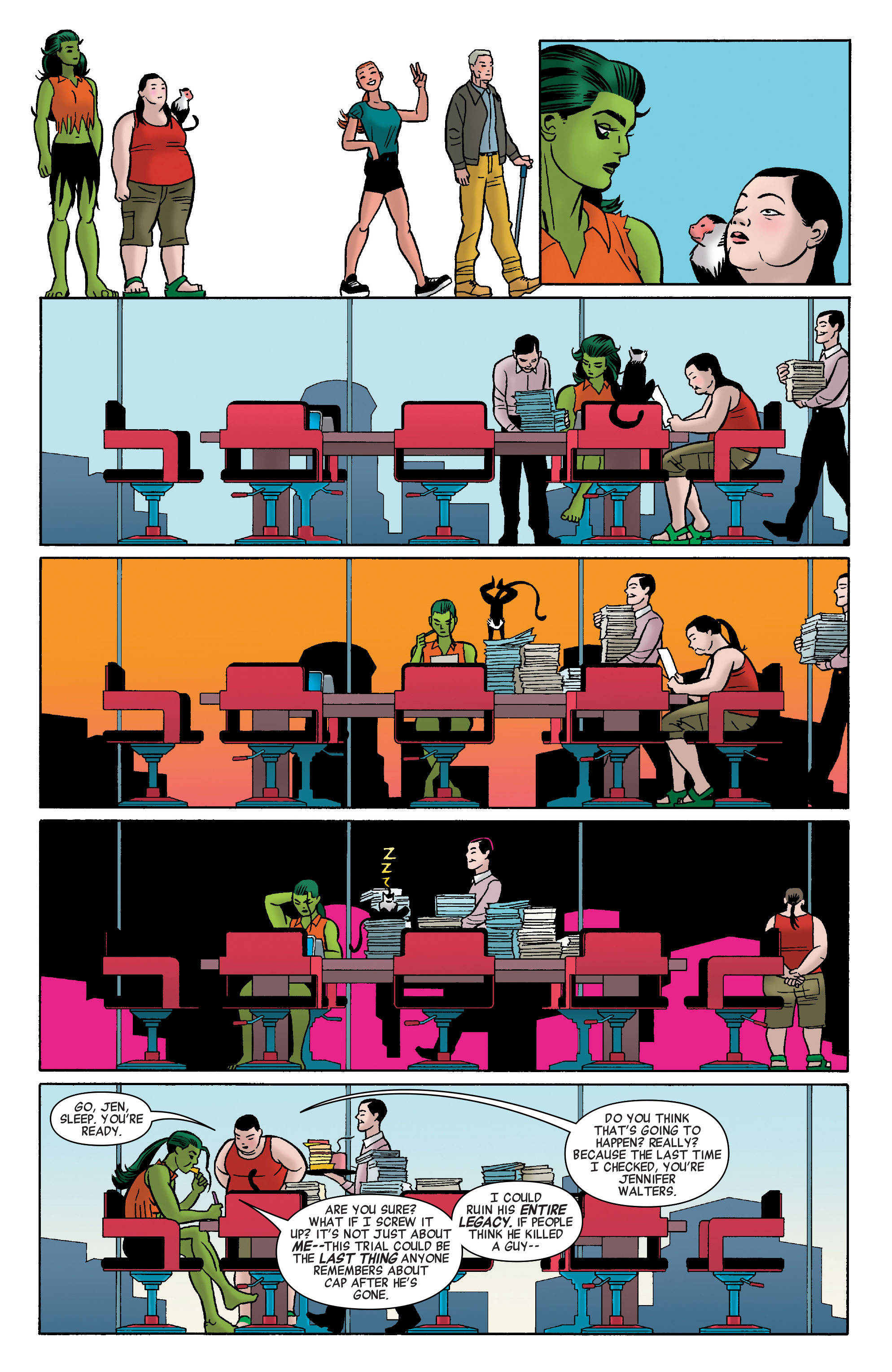 Read online She-Hulk (2014) comic -  Issue #8 - 19