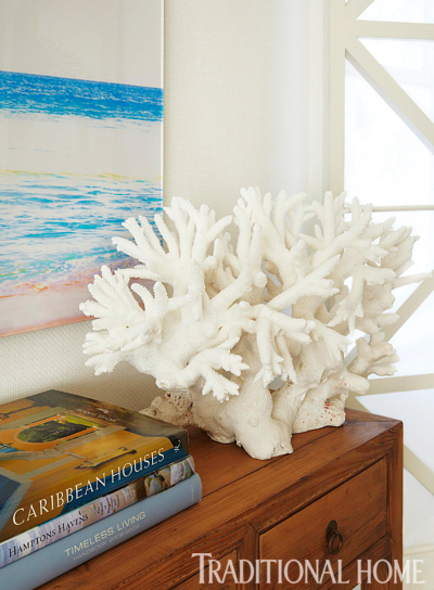 White Coral Figurine