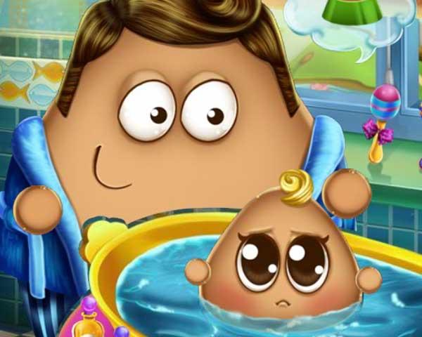 Lavar o Bebê Pou