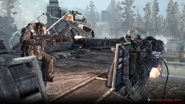 Gears of War 2 Gameplay Screenshot 1