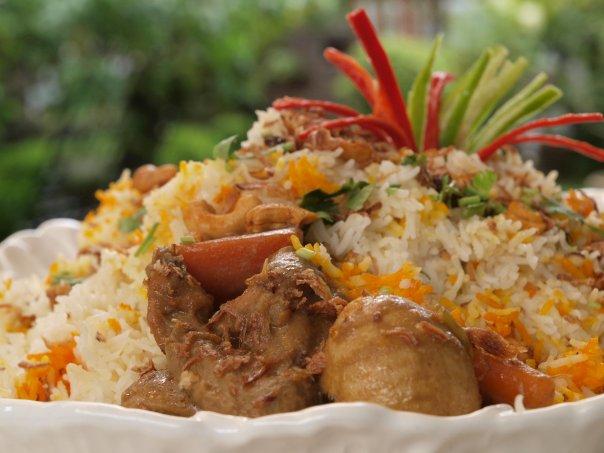 Rempah Ratus Masakan Melayu Johor: Nasi Beriani Gam Johor