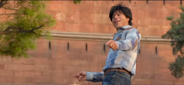 Shah Rukh Khan from the movie fan.