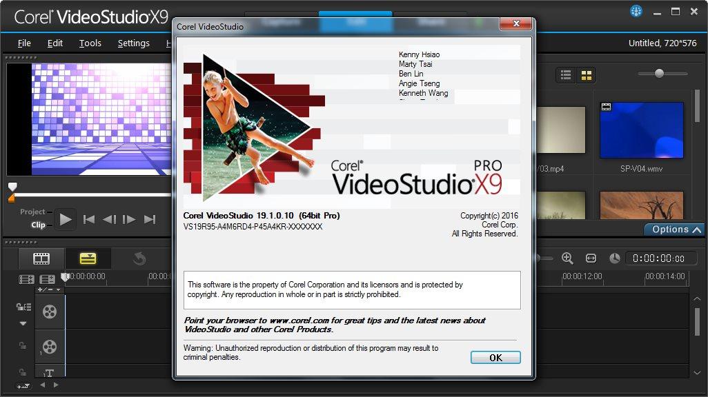 Buy VideoStudio Pro X7 key
