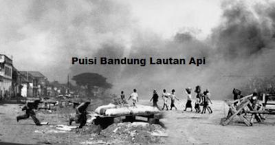 Puisi Bandung Lautan Api