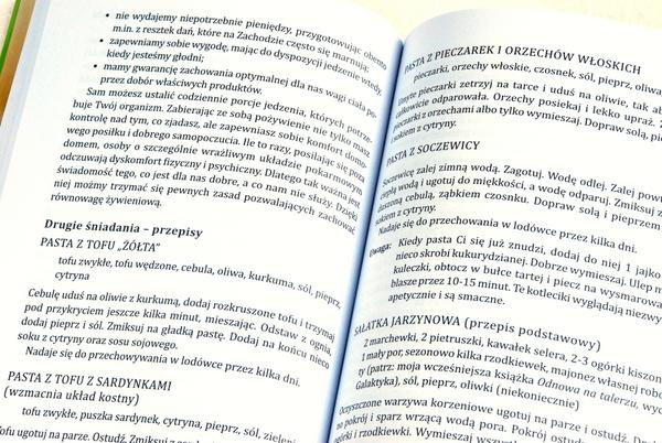 Przykładowe strony z przepisami