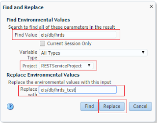 Customize OSB environment values