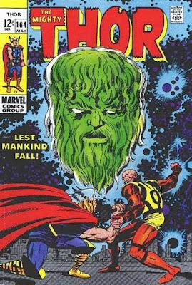 Thor #164, Pluto and Zeus