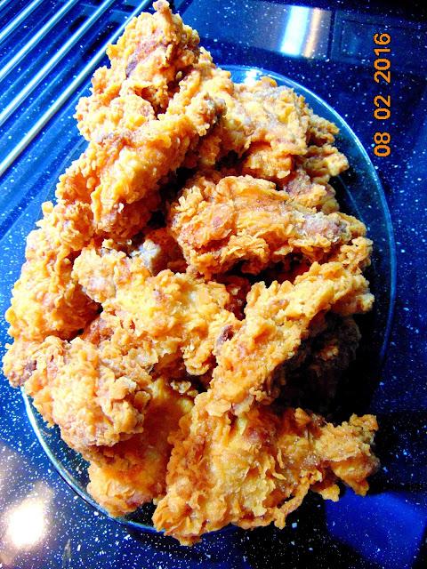Skrzydełka a'la KFC Hot Wings