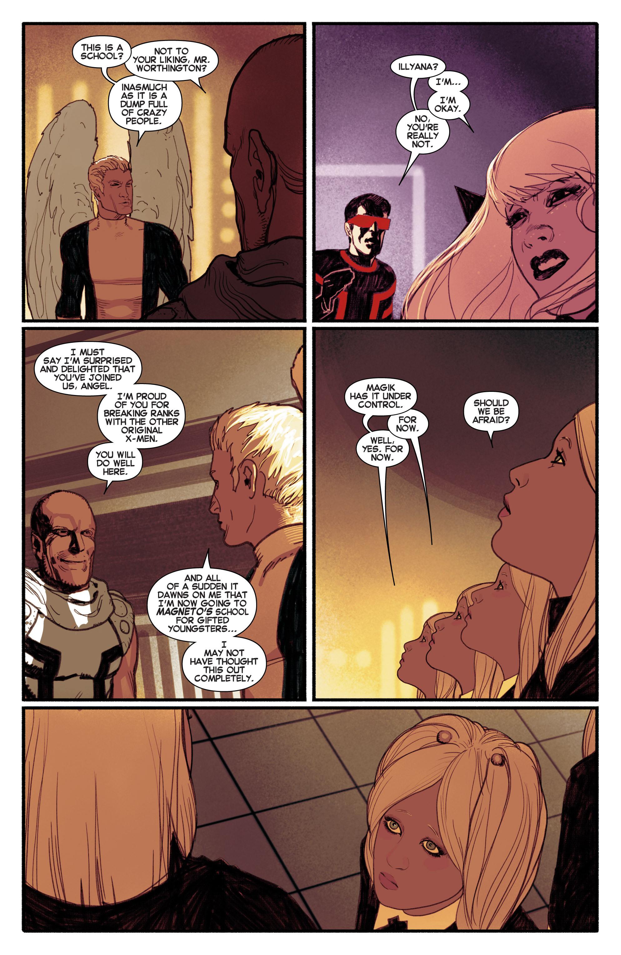 Read online Uncanny X-Men (2013) comic -  Issue #5 - 16