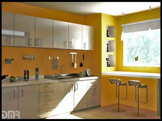 Asian paints interior colour combinations for kitchen home painting for Asian paints color shades exterior walls
