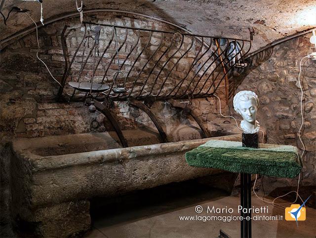 Mulino del Trotto di Cagno: testa di donna di Antonio Mina