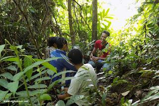 gunung pahiyangan aranio, kabupaten banjar