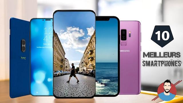 Les 10 meilleurs smartphones du moment 2018-2019